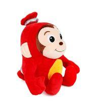 "Toy Trons Coco Mong Stuffed Animal Monkey Plush Toy 9.85"" 25cm image 3"