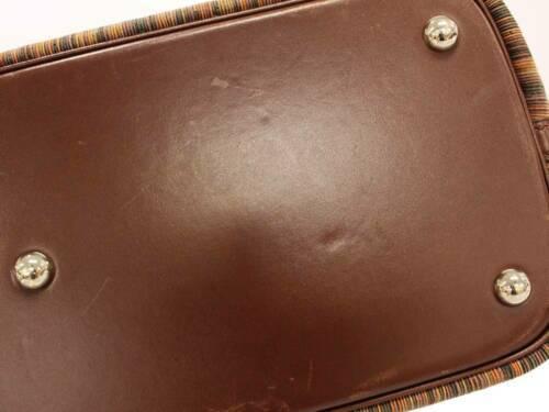HERMES Bolide 35 Vibrate Brown Handbag Shoulder Bag #D Authentic 5473007 image 6