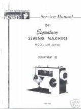 Ward Montgomery Ward Signature UHT-J278A Service Manual  - $14.99