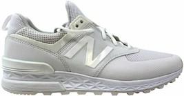 New Balance 574 Sport White  Men's MS574SWT Size 8 Medium - $28.48