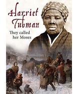 Harriet Tubman: They Called Her Moses [DVD] - $20.50