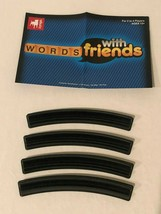 Words With Friends Game Replacement Parts Pieces Tile Racks and Instructions - $4.99