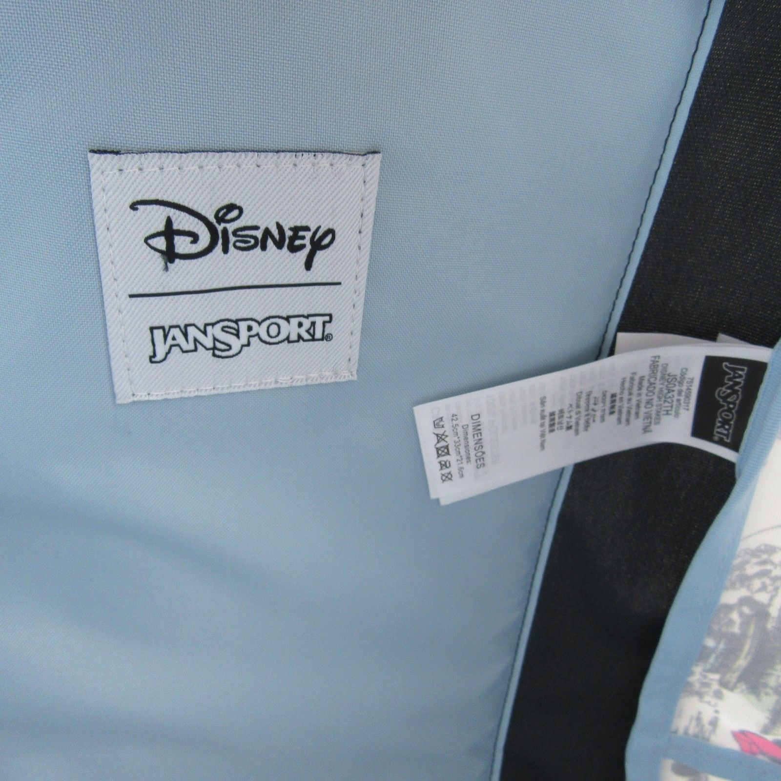 Jansport Disney Day in the Park Backpack Bag Mickey Minnie NEW #JS0A3BB33D3