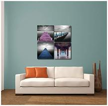"""Pingo World 0816Q8DRQSM """"Colorful Boat Docks"""" Gallery Wrapped Canvas Wal... - $48.46"""