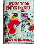 JERRY TODD EDITOR IN GRIEF Leo Edwards mystery ... - $36.00