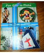 Fun Gifts To Make Book 17470 C J Bates & Sons  - $4.50