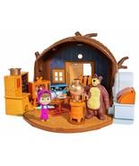 Masha And El Bear The Home Bearhouse Toy TV Child Boy Girl Foldable Simba - $219.10