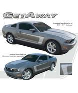 Mustang C Stripe Boss Side 3M Pro Grade Vinyl Decals Graphics 2010-2012 ... - $101.69