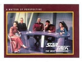 Star Trek The Next Generation card #202 A Matter of Perspective Picard R... - $3.00