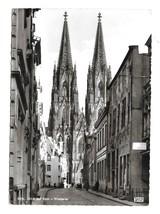 Germany Cologne Cathedral West Side Koln Dom Kessel Art Photo Postcard - $7.99