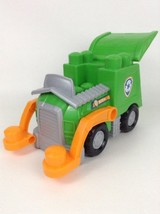 Ionix Paw Patrol Rocky's Recycling Truck Building Toy LG Vehicle - $16.88