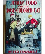 JERRY TODD and the ROSE COLORED CAT Leo Edwards #2 HC Reproduced DJ - $32.00