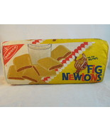 "FIG NEWTON PILLOW VINTAGE NABISCO PROMOTIONAL BLOCK PILLOW 15.5 ""L 7 ""T ... - $59.39"