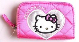 "Hello Kitty 4.5"" x 3"" Pink Coin Wallet"