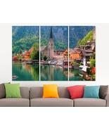 Austrian Lake Canvas Print Austria Photo Austrian Wall Art Austria Canva... - $49.00