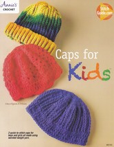 Caps for Kids, Annie's Attic Crochet Pattern Booklet 885182 NEW - $5.95