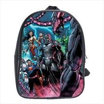 School bag superheroes comics bookbag backpack 3 sizes - $38.00+