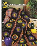 Spanish Dancers Afghan Crochet Pattern Annies Attic Crochet & Quilt Club - $6.50