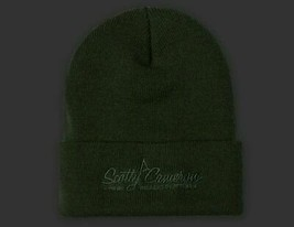 Scotty Cameron Limited Edition Knit Hat Knit Cap Olive Knit Hat Cameron ... - $122.53
