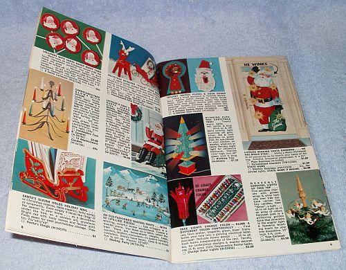 Vintage Ephemera Spencer Gifts Christmas Mail Order Catalog 1966