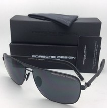 Nuova Porsche Design Occhiali da Sole P'8639 a 62-13 145 Black Aviatore Frame W/