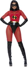 Forplay Women's Super Suit Sexy Superhero Costume Adult Costume, Red