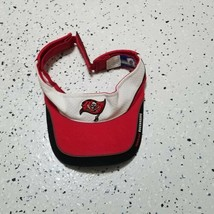 Reebok Visor Hat ~ Tampa Bay Buccaneers ~ Red, White & Black ~ Adjustable - $14.84