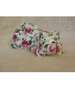 "BAUM BROTHERS FORMALITIES ""SLEEPING KITTY w/ROSES & ENGLISH IVY"" PATTERN... - $9.99"