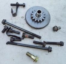 '87 Ninja 250 R EX250 250R Starter Gear & Misc Motor Engine Parts Kawasaki - $31.78