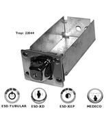 "ESD MACGARD BG XL 8"" MONEY BOX with high security lock Model Number 7193... - $40.56"