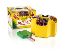 Crayon Collection Huge Variety Sharpener Suited Storage Box - $24.96