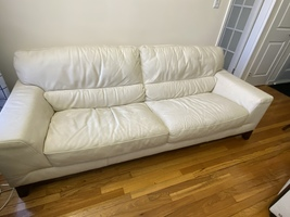 Excellent leather sofa - must sell - $250.00