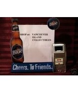 Labatts Blue Beer Bottle Opener with Beer Menu Vintage Collector Collect... - $9.99