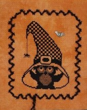Ooolee Witches Hat with Charm cross stitch chart Handblessings - $6.50