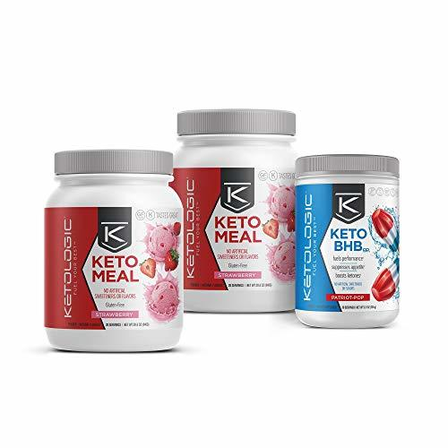 KetoLogic Keto 30 – 30-Day Bundle – Suppresses Appetite/Promotes Weight Loss/Inc