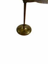 """Antique Desk Brass Victorian Hand Stand Letter Note Photo Recipe Holder 15"""" tall image 3"""
