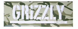 """Grizzly Griptape Green Branch Camo 8"""" Sticker Skateboard Decal NEW"""
