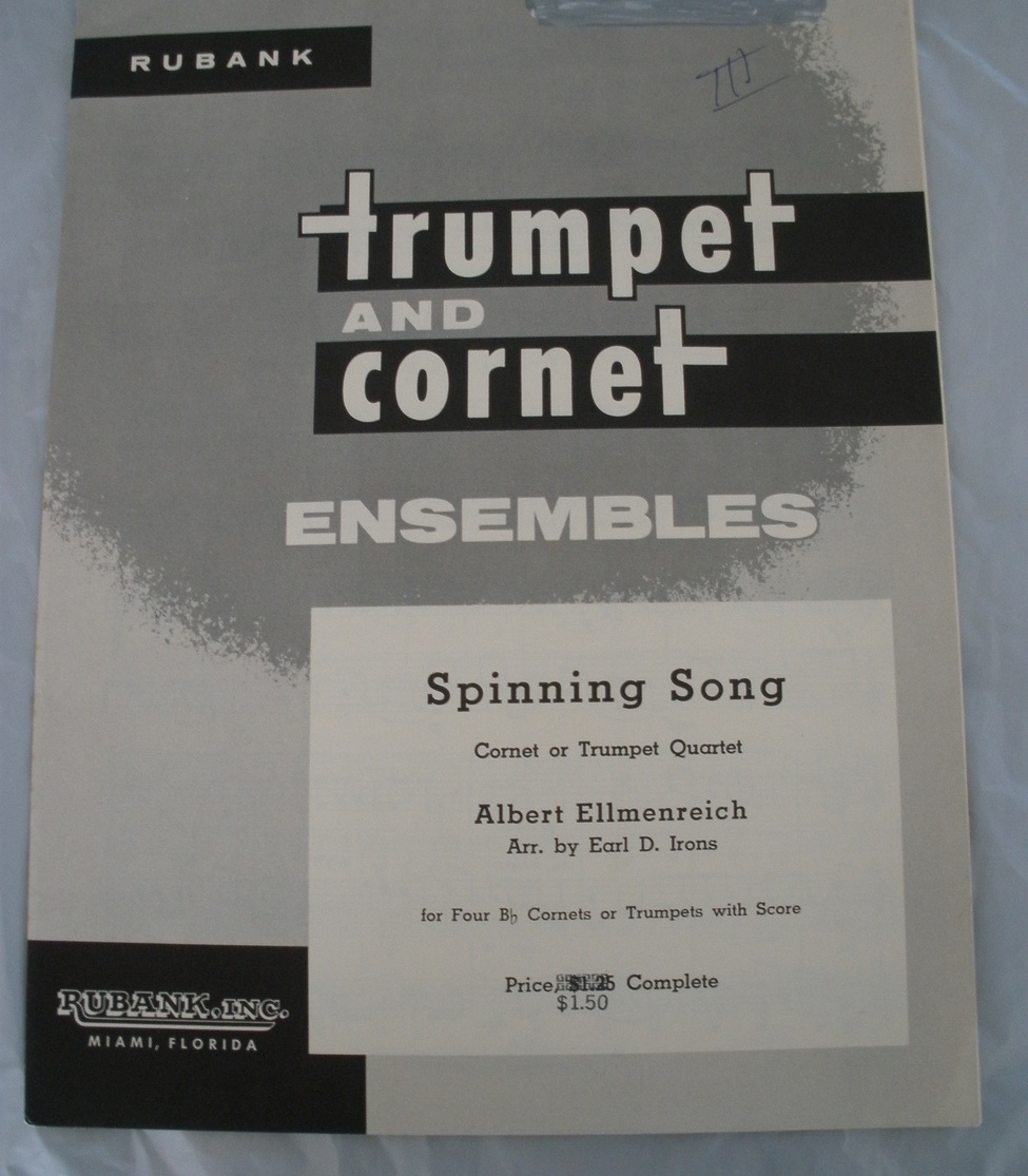 Primary image for Spinning Song - Ellmenreich/ Irons - Trumpet Quintet
