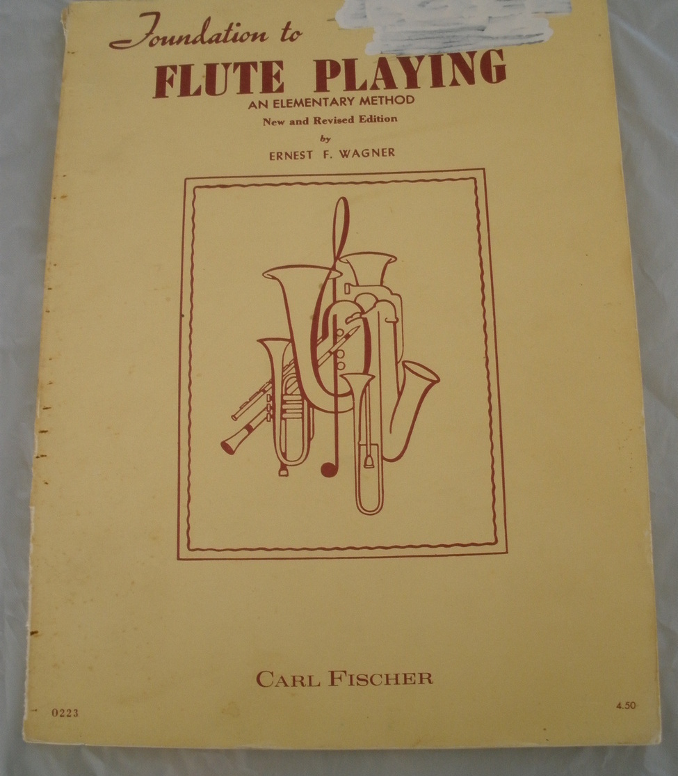 Primary image for Foundations to Flute Playing - Wagner - Flute Method