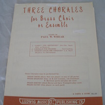 Three chorales   whear thumb200