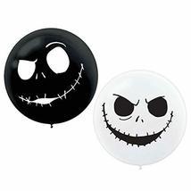 Amscan 112052 Nightmare Before Christmas Giant Latex Plastic Balloons 2c... - $12.82