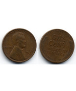P28 - 1937 D Lincoln Wheat Penny - £0.20 GBP