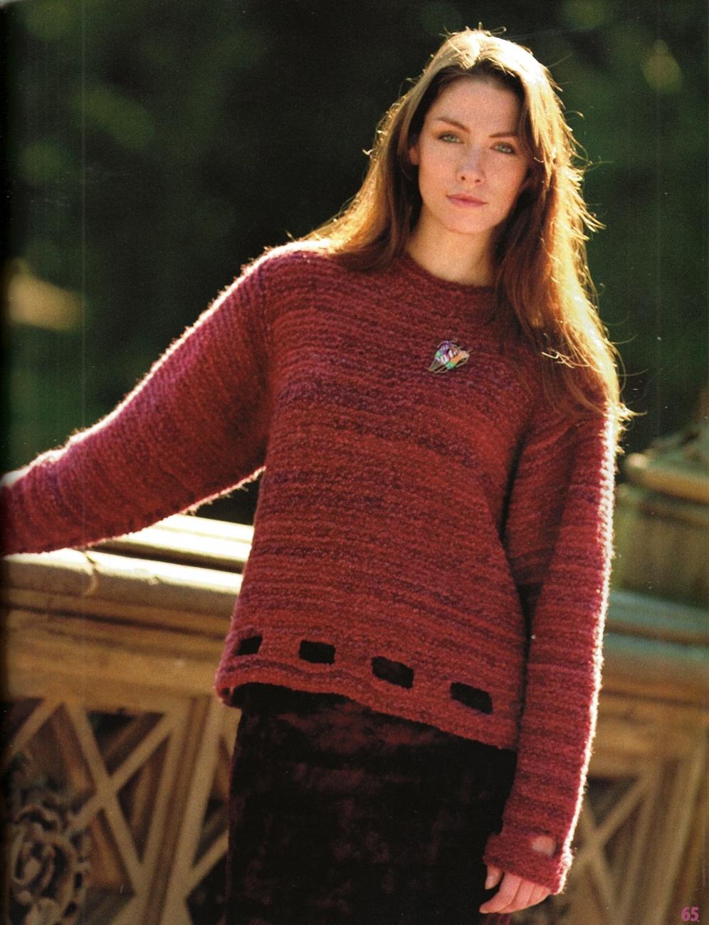 Kimono Scarf Knitting Pattern : Knitters #76 Fall 2004 Boho Jackets Poncho Kimono Hats Scarf Knitting Pa...