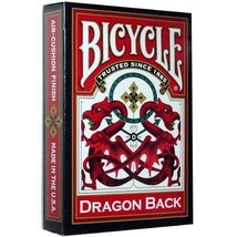 Bicycle Dragon Back Playing Cards (RED) Edition Poker Magic Deck - $31.36