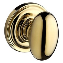 Baldwin Reserve 9BR3530-019 Traditional Ellipse Privacy Knob in Polished Brass - $80.62