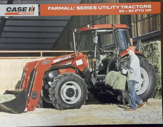Primary image for 2008 Case-IH Farmall Series Tractors Color Brochure