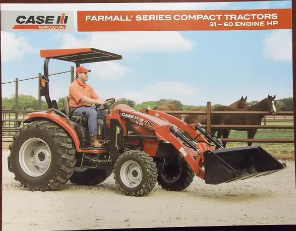 Primary image for 2008 Case-IH Farmall Series Compact Tractors Color Brochure