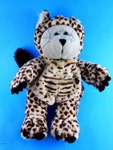 "2005 Starbucks 40th Edition Bearista Bear Plush Stuffed Cheetah Cat Leopard 10"" - $9.89"