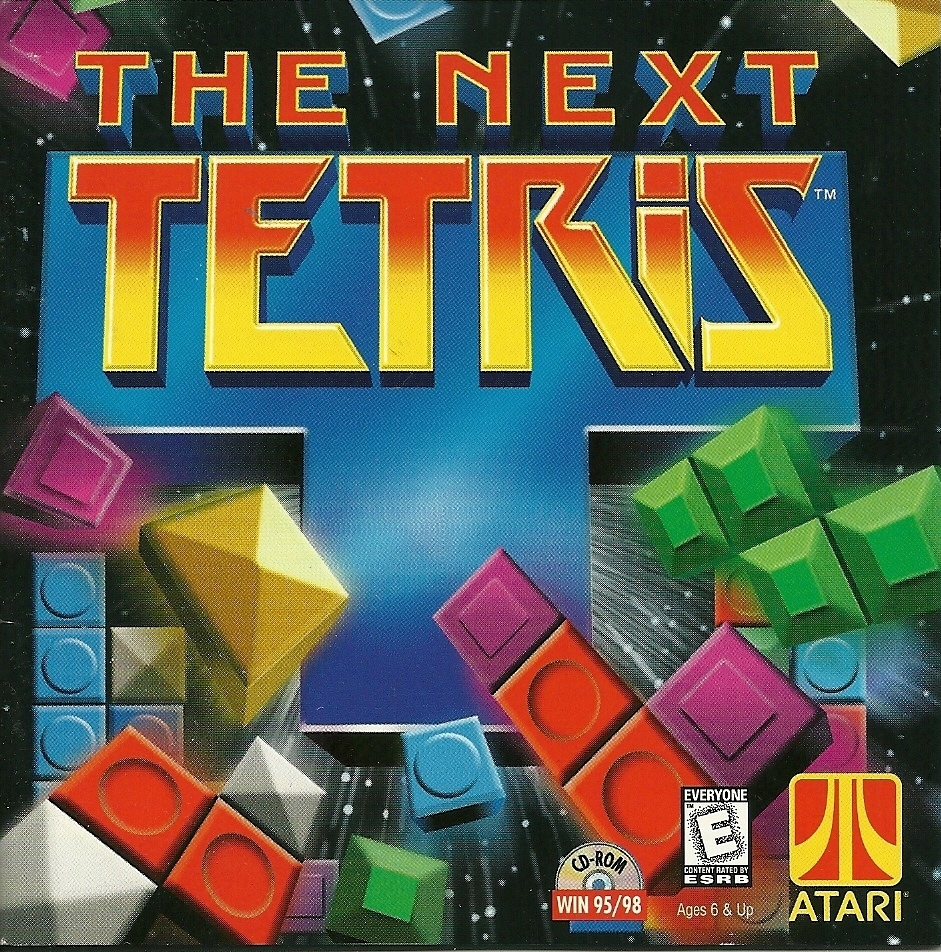 Tetris Atari The Next Tetris CD ROM Game PC