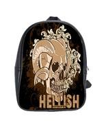 Hellish Custom Leather Backpack - $29.99